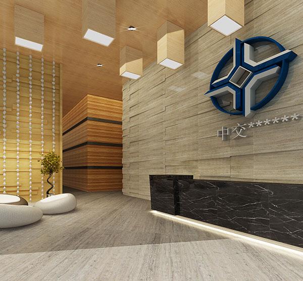 公司大厅工装效果图