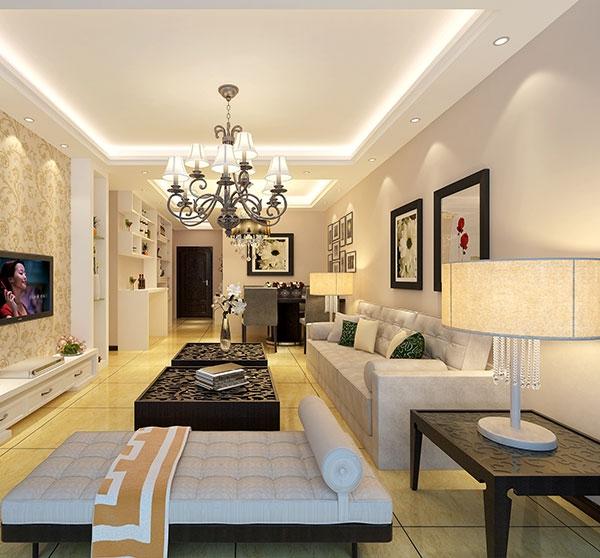 现代客厅家装效果图